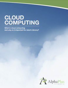 Cloud computing cover