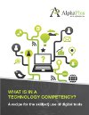 What is in a technology competency?