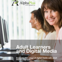 Adult Learners and Digital Media: Exploring the usage of digital media with adult literacy learners