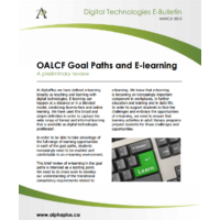 OALCF Goal Paths and E-learning